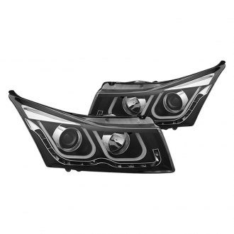 CG® - Black DRL Bar Projector Headlights with LED Turn Signal