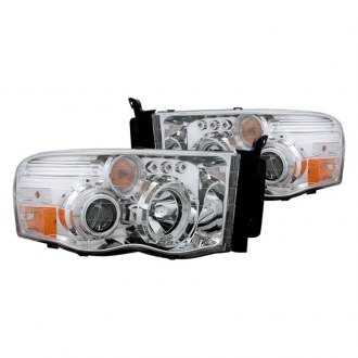 CG® - Chrome Halo Projector Headlights with Parking LEDs