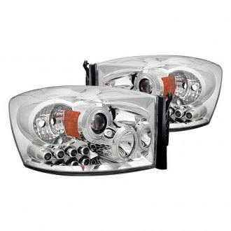 CG® - Chrome CCFL Halo Projector Headlights with Parking LEDs