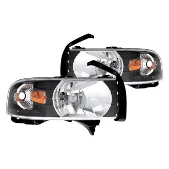 CG® - Black Euro Headlights with Parking LEDs