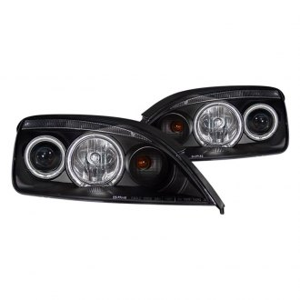 CG® - Black CCFL Halo Projector Headlights with LED DRL
