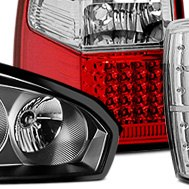 CG® - Red Clear Led Tail Lights
