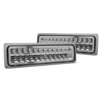 CG® - Chrome LED Turn Signal/Parking Lights