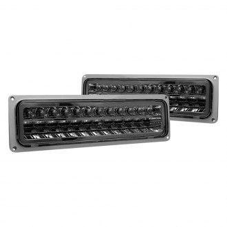 CG® - Chrome/Smoke LED Turn Signal/Parking Lights