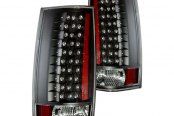 CG® - Black LED Tail Lights G4