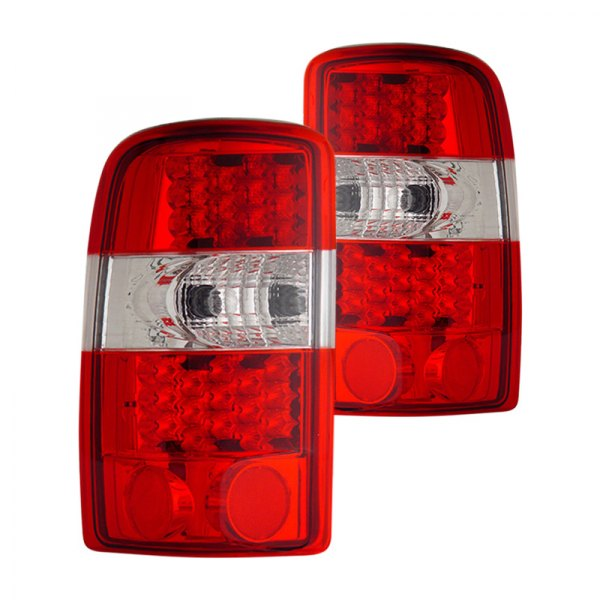 CG® - Red/Clear LED Tail Lights