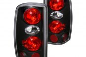 CG® - Black/Red Euro Tail Lights