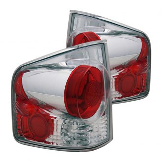 CG® - Chrome/Red 3D Style Euro Tail Lights