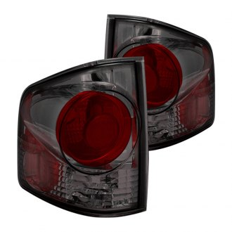 CG® - Chrome Red/Smoke 3D Style Euro Tail Lights