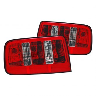 CG® - Red/Clear 2010 Style Euro Tail Lights