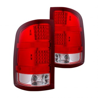 CG® - Chrome/Red LED Tail Lights