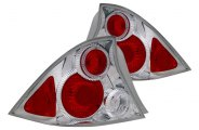 CG® - Chrome Euro Tail Lights with Halo G4