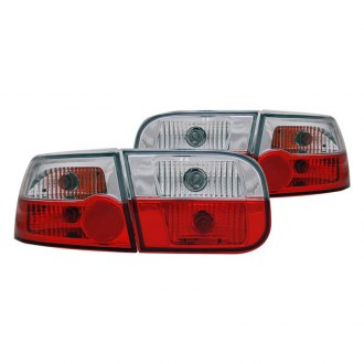 CG® - Red/Clear Euro Tail Lights
