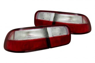 CG® - Red/Clear Euro OEM Style Tail Lights G2