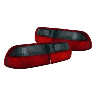 CG® - Red/Smoke Euro OEM Style Tail Lights G2