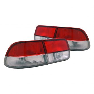 CG® - Red/Clear Euro OEM Style Tail Lights