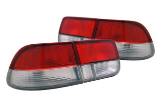 CG® - Red/Clear OEM Style Euro Tail Lights