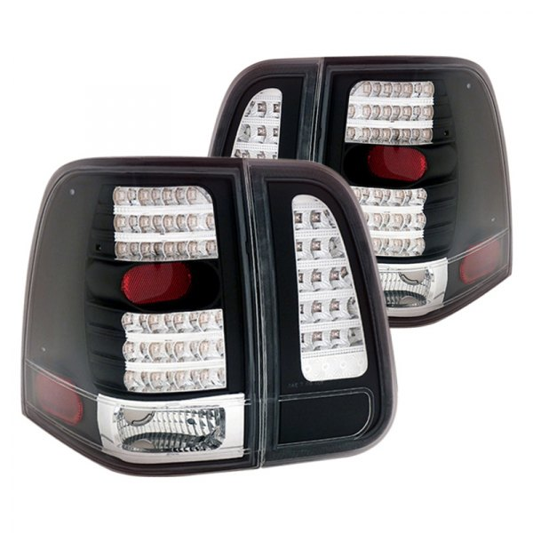 CG® - JDM Black LED Tail Lights