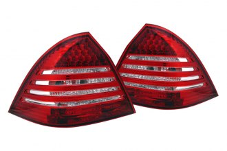 CG® - Red/Clear LED Euro Tail Lights