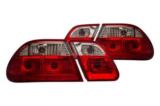 CG® - Red/Clear Euro Tail Lights G2