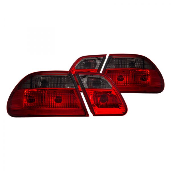 CG® - Chrome Red/Smoke Euro Tail Lights