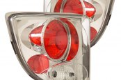 CG® - Chrome/Red Euro Tail Lights