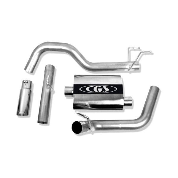 CGS® - Aluminized Steel Cat-Back Exhaust System - Single Behind Right Rear Tire Exit