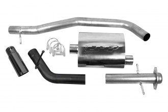 CGS® 60043 - Aluminized Steel Cat-Back Exhaust System - Single Behind Right Rear Tire Exit (Mild Sound)