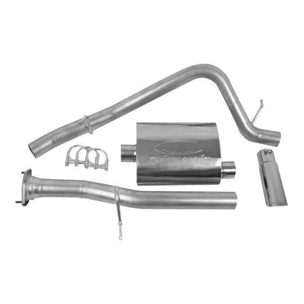 CGS® - Stainless Steel Cat-Back Exhaust System - Single Behind Right Rear Tire Exit