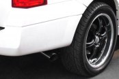 CGS® - Stainless Steel Cat-Back Exhaust System - Single Behind Right Rear Tire Exit, Installed