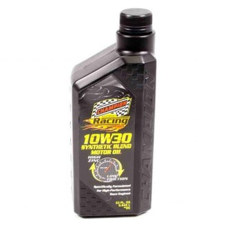 Champion Brands® - Symantec Blend 10w-30 Racing Motor Oil, 1x1 Qt.
