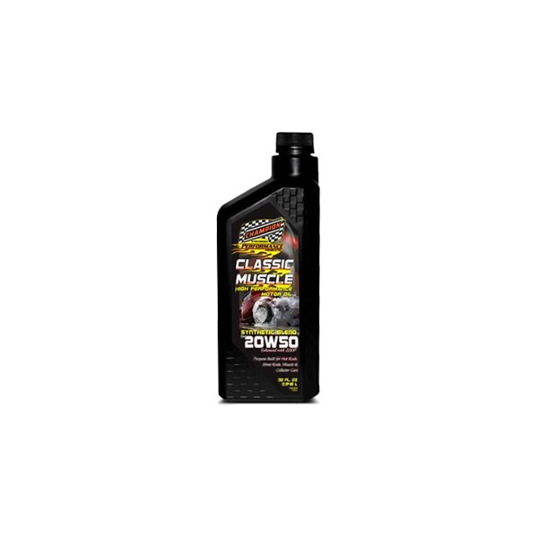 Champion Brands Cho4124h 1 Classic Muscle Sae 20w 50 Synthetic Blend Motor Oil 1 Quart