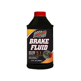 Champion Brands® - DOT 5.1 Brake Fluid, 12x12 oz.