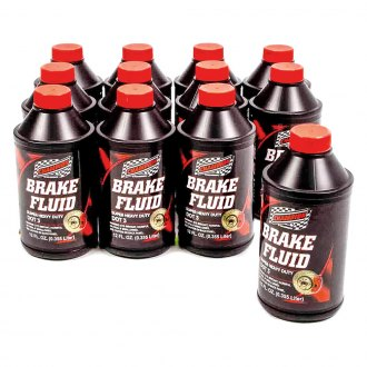 Champion Brands® - HD DOT 3 Brake Fluid, 12x12 oz.