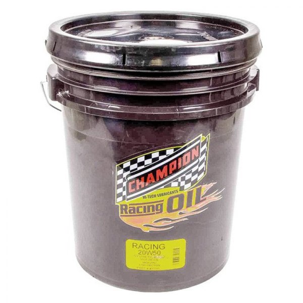 Champion Brands 4111d Sae 20w 50 Synthetic Blend Racing Motor Oil 5 Gallons