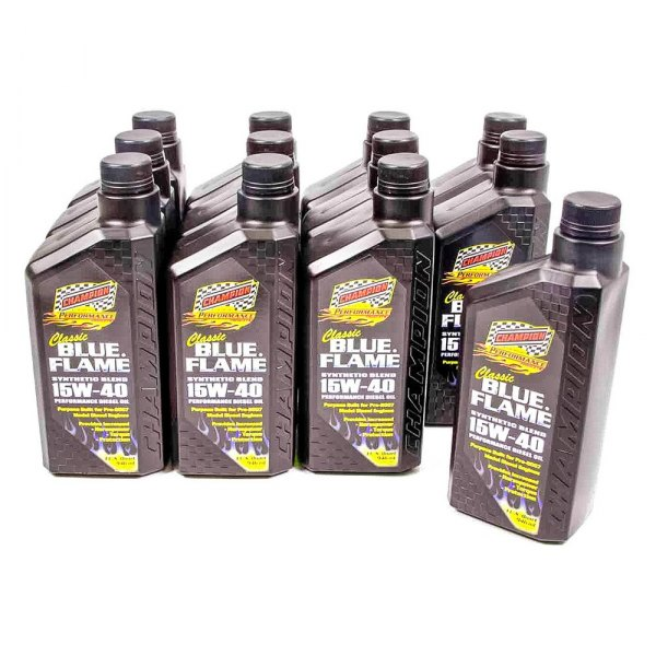 Champion brands 4359h 4359h classic blue flame sae for Racing motor oil brands