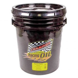 Champion Brands® - SAE 10W Full Synthetic Racing Motor Oil, 5 Gallons