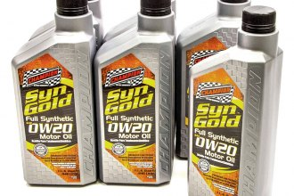 Champion Brands® - SynGold™ Full Synthetic 0w-20 Motor Oil SN/GF-5, 6x1 Qt.