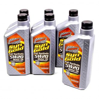 Champion Brands® - SynGold™ Full Synthetic 5w-20 Motor Oil SN/GF-5, 6x1 Qt.