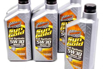 Champion Brands® - SynGold™ Full Synthetic 5w-30 Motor Oil SN/GF-5, 6x1 Qt.