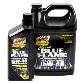 Champion Brands® - Classic Blue Flame™ SAE 15W-40 Performance Diesel Oil Synthetic Blend