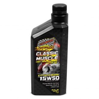 Champion Brands® - Classic & Muscle SAE 15W-50 Full Synthetic Motor Oil