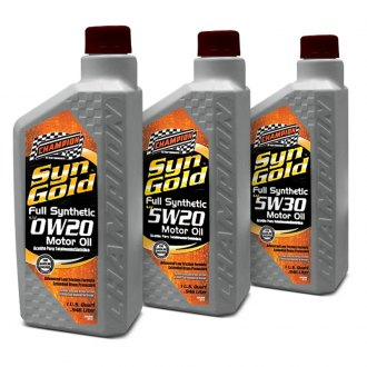Champion Brands® - SynGold™ Full Synthetic Motor Oil SN/GF-5