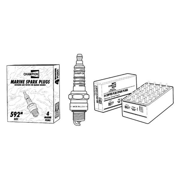 Champion® - Spark Plug Champion Ql78C