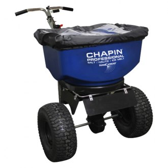 Chapin® - SureSpread Salt Spreader 100lb Professional Stainless Steel Push Spreader