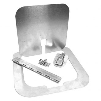 "Chassis Engineering® - 6"" x 6"" Fuel Door Kit"