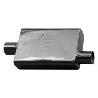 "Cherry Bomb® - Vortex Muffler (3"" Center Inlet / Offset Outlet Diameter, 20.5"" Length)"