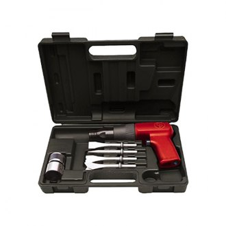 Chicago Pneumatic® - Heavy-Duty Air Hammer Kit with Four Chisels