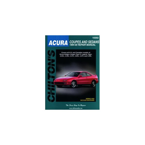 Chilton® - Acura Coupes and Sedans Repair Manual on