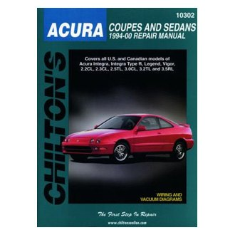 Chilton® - Acura Coupes and Sedans Repair Manual